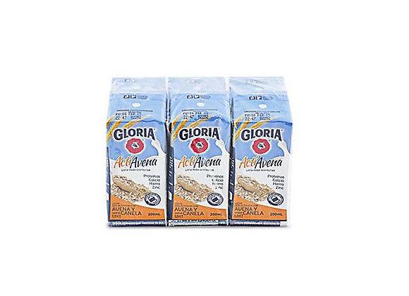 Leche fresca Actiavena - 6 pack 200ml. - Gloria