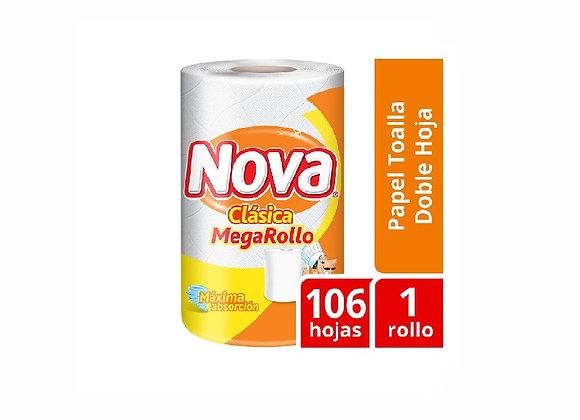 Papel Toalla Clásico Megarrollo - Nova