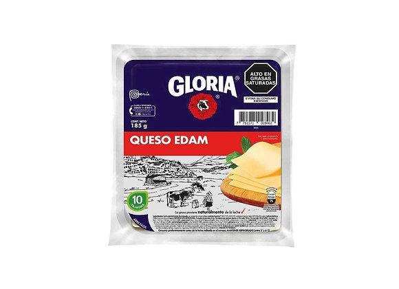 Queso Edam en tajadas - 185 gr.  Gloria