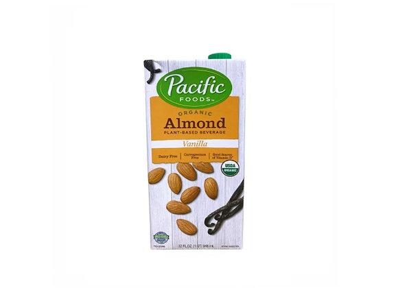 Bebida de Almendras con vainilla. Pacific Foods
