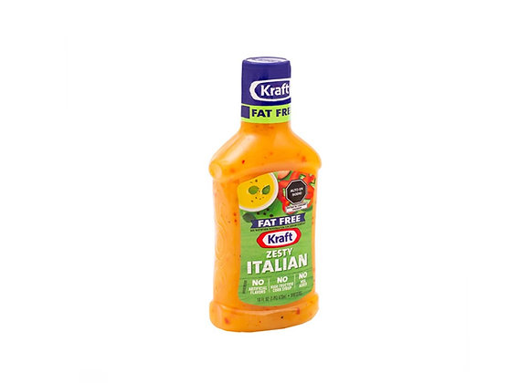 Aderezo Zesty Italian - Kraft - 473 ml.