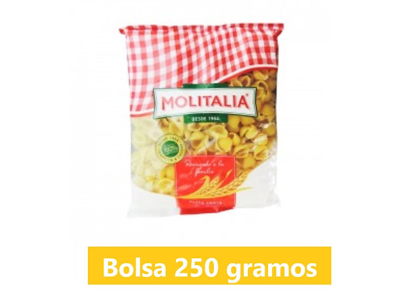 Fideo caracol - Bolsa 250 gr. - Molitalia