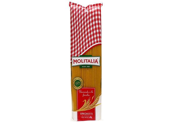 Fideos Spaghetti 500 gr.  Molitalia