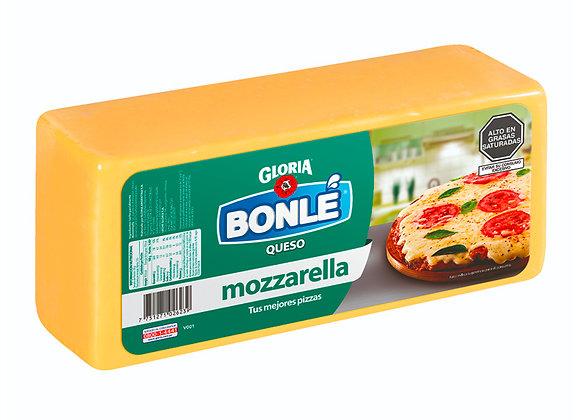 Queso Mozarella - Barra 3.5 kg. Aprox. - Bonlé