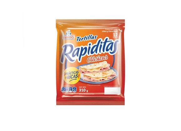 Tortillas Bimbo - Rapiditas - 310 gr.
