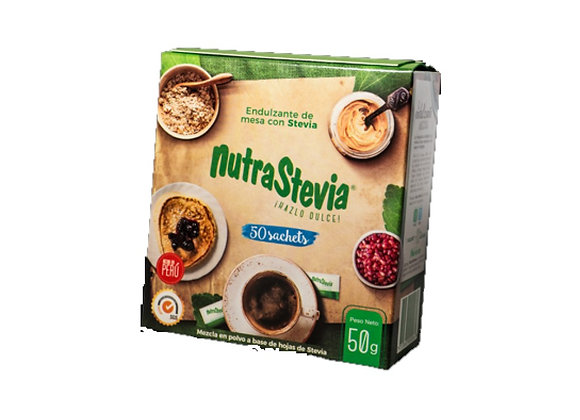 Endulzante Stevia - NutraStevia - 50 gr.