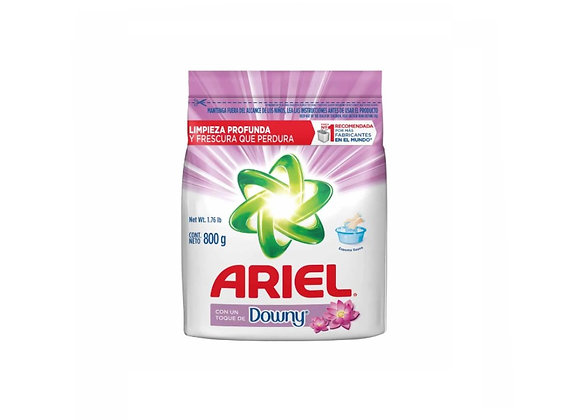 Detergente en polvo ARIEL con Downy - Bolsa 800 gr.