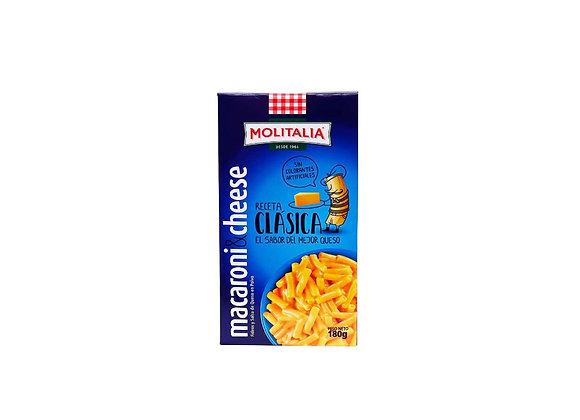 Macaroni & Cheese - Caja 180 gr.  Molitalia