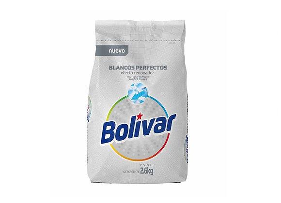 Detergente Bolivar Blancos Perfectos - 2.6 kg