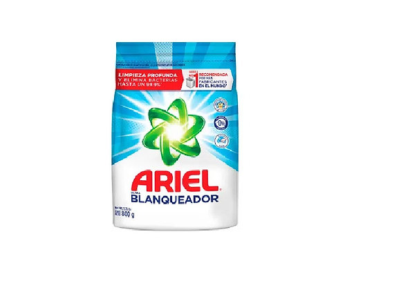 Detergente Ultra Blanqu. Bolsa 800 gr - Ariel