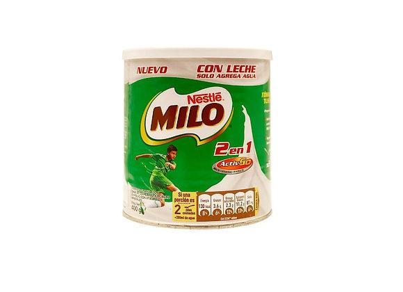 MILO 2 en 1 - Lata 400g