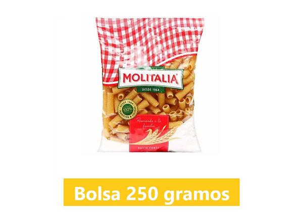 Fideo rigatoni - Bolsa 250 gr. - Molitalia