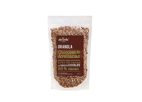 Granola Chocolate y Avellanas. 300 gr. Almonte