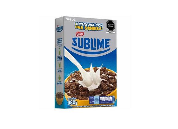 Cereal con chocolate Sublime - Caja 330 gr. - Nestlé