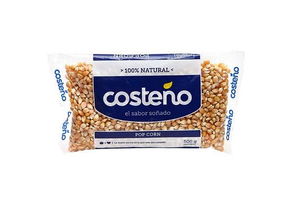 Maiz Pop Corn Bolsa 500 gr. Costeño