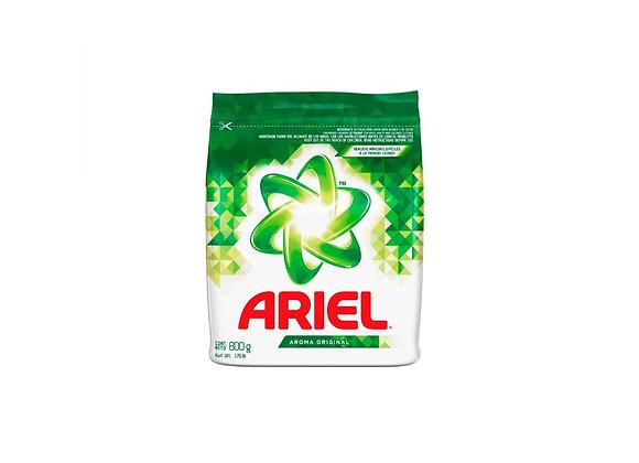 Detergente Ariel. Aroma Natural. Bolsa 800 gr