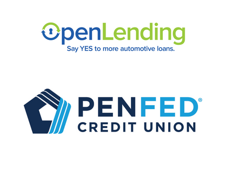 Pentagon Federal Credit Union Partners with Open Lending