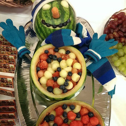A fruity Christmas party