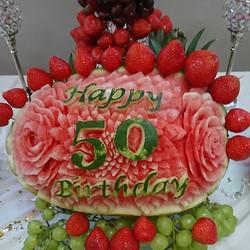 50th birthday celebrations.