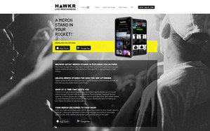 Hawkr Live Website
