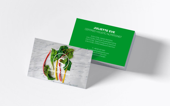 Seeds Of Changes Business Cards