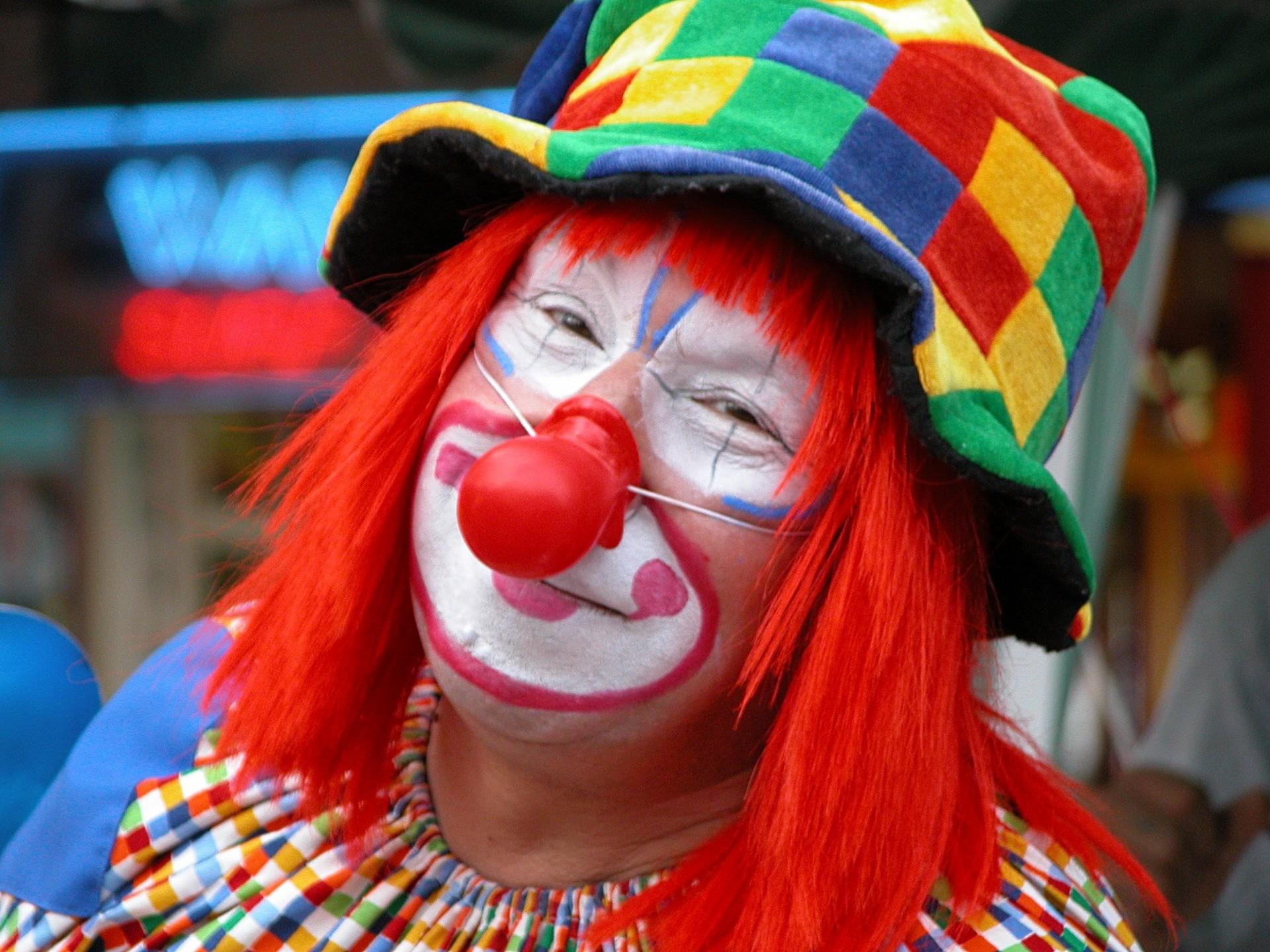 Картинки с смешными клоунами, день рождения