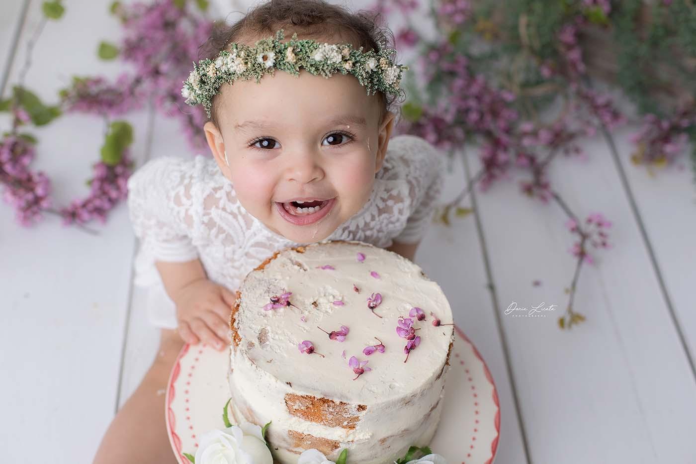 photographe enfant smash the cake martigues