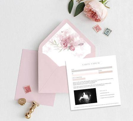 carte cadeau séance photo bébé, grossesse, liste de naissance