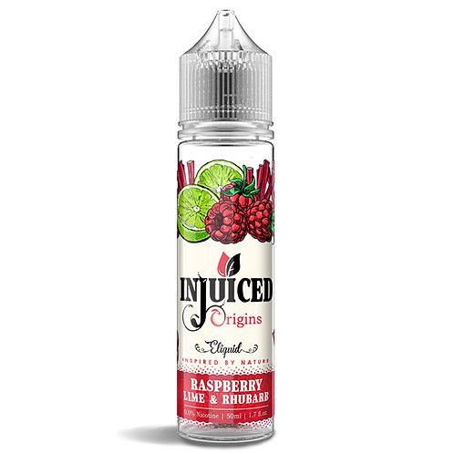 Raspberry, Lime & Rhubarb 50ml E-liquid