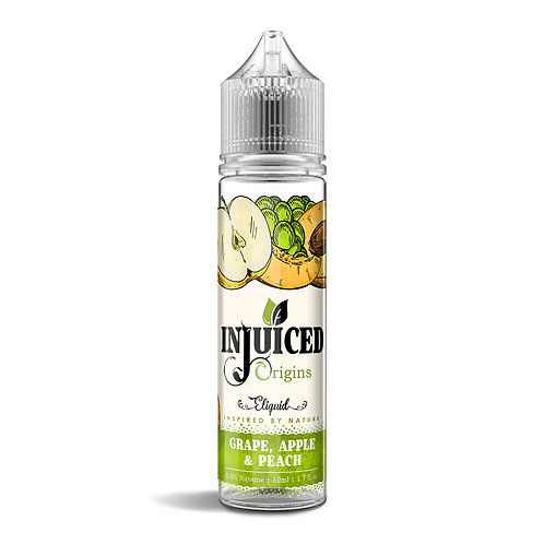 Grape, Apple & Peach 50ml E-liquid