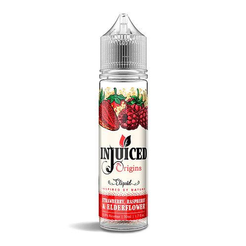 Strawberry, Raspberry, Elderflower 50ml E-liquid
