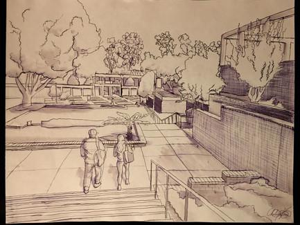 Outdoor Observation Sketching