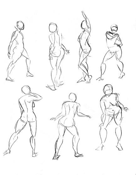 1 minute gestures