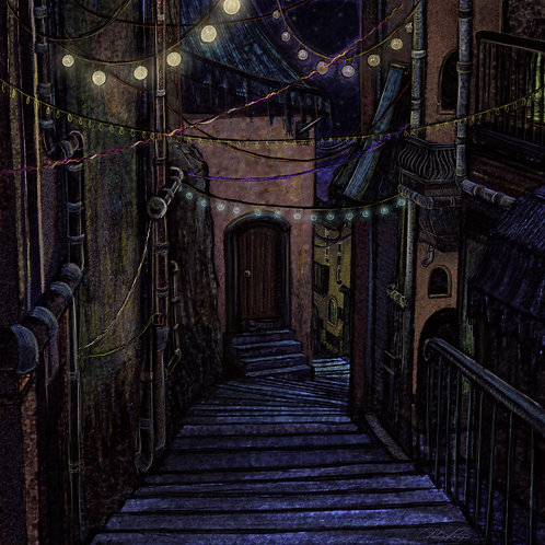 """Secret City"" Giclee Print"
