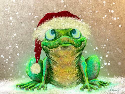 """Hoppy Holidays"" Giclee Print"