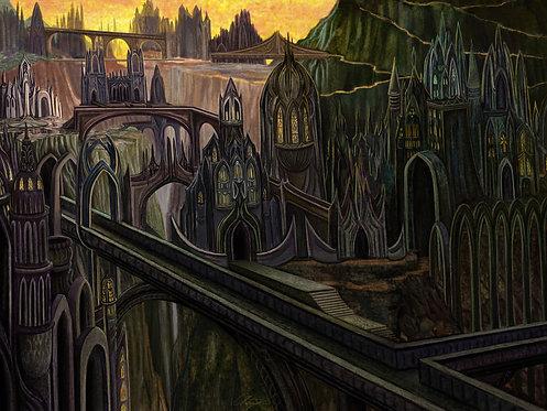 """Sky Kingdom"" Giclee Print"