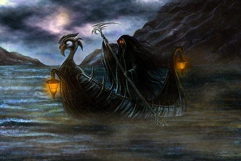 """The Ferryman"" Giclee Print"