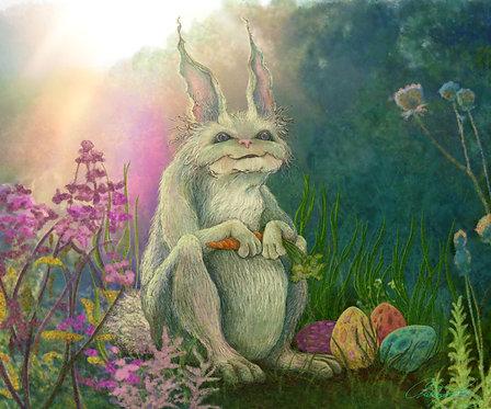 """Easter Bunny"" Giclee Print"