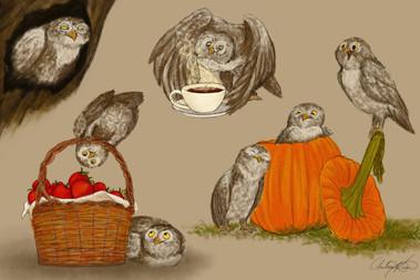 Owlies Character Sheet