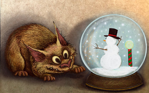 """Snow Globe"" Giclee Print"