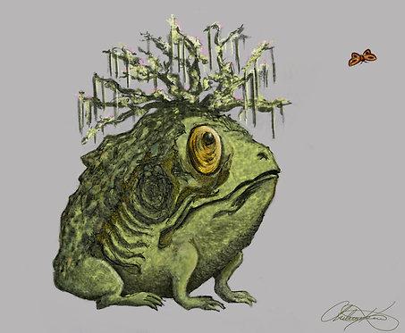 """""""Ghrellin Beast"""" Giclee Print"""