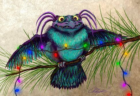"""Festive Feathers"" Giclee Print"