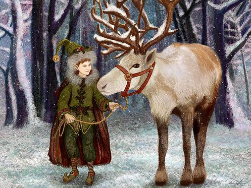 """Magic of the Season"" Giclee Print"