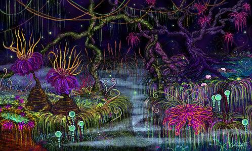 """""""Magic Jungle"""" Giclee Print"""