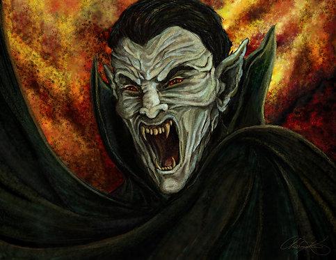 """""""Vampire"""" Giclee Print"""