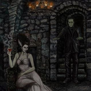 Bride of Frankenstein and Monster