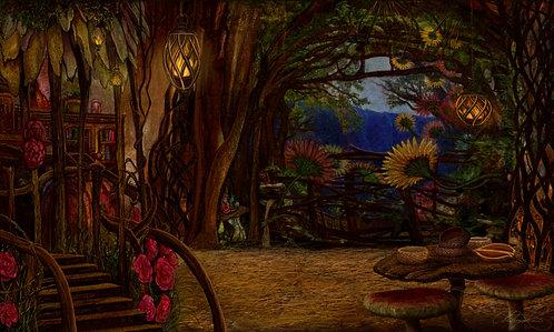 """Faerie House"" Giclee Print"