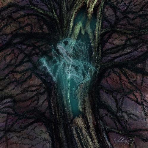 """Haunted"" Giclee Print"