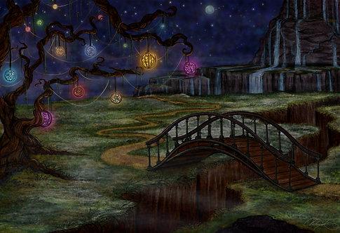 """Serenity Bridge"" Giclee Print"