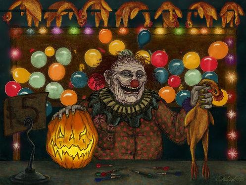 """Carnival Nightmare"" Giclee Print"